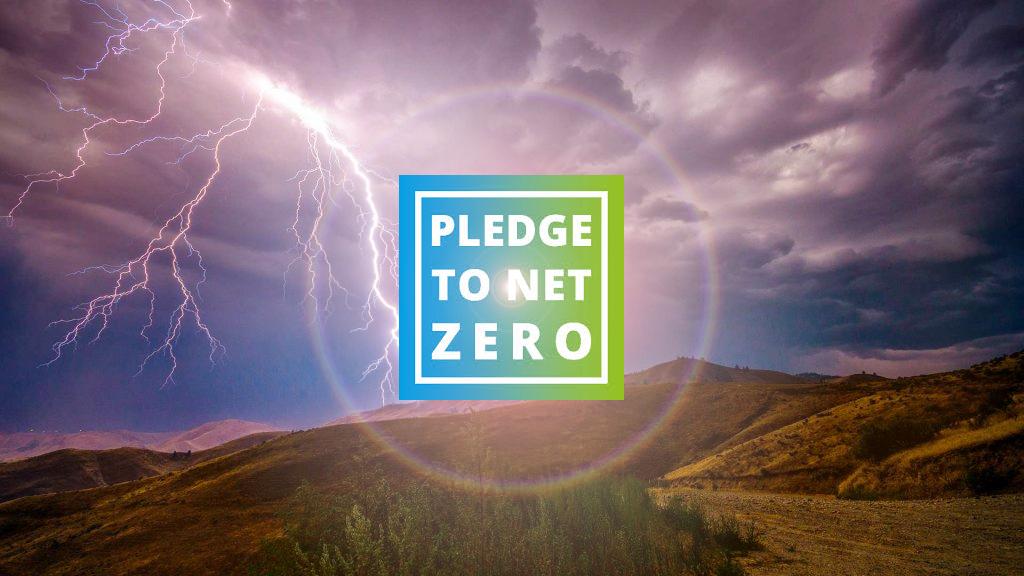 net zero emissions pledge
